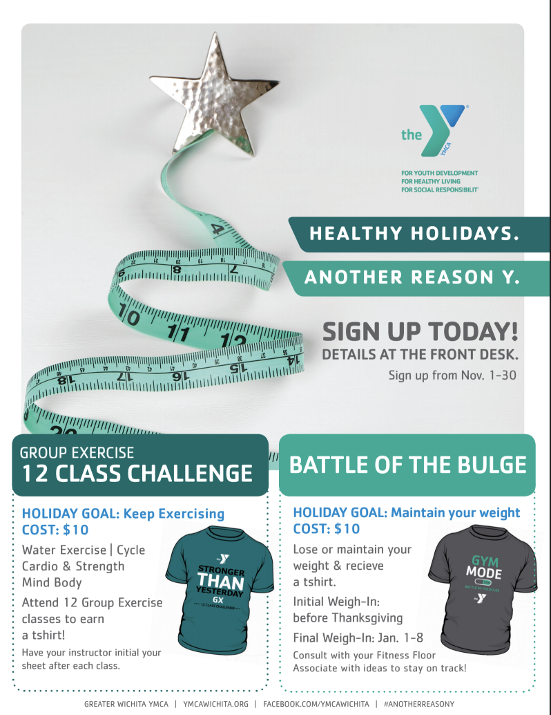 BATTLE OF THE BULGE CHALLENGES HOLIDAY WEIGHT GAIN | YMCA OF